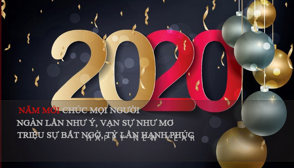 Những thiệp chúc tết đẹp 2020 5