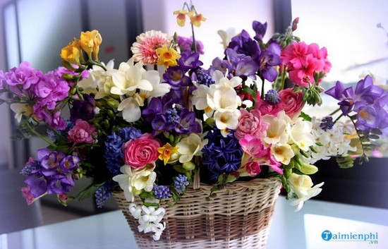 Bài thuyết trình cắm hoa chủ đề mẹ 3