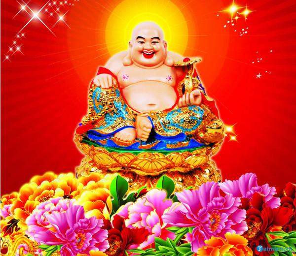 Cách đặt tượng Phật Di Lặc trên bàn thờ thần tài giúp phát tài, phát lộc  316211448