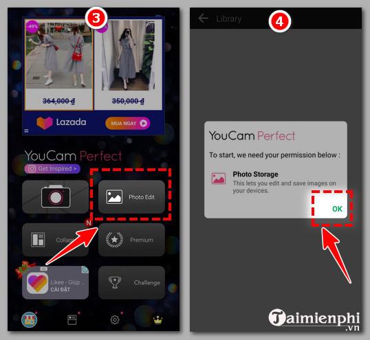 Cách chỉnh sửa ảnh bằng ứng dụng YouCam Perfect