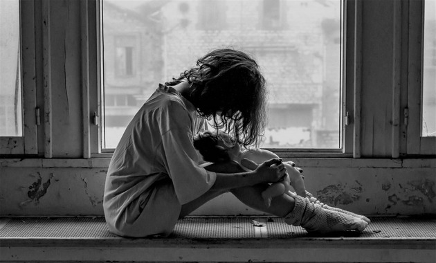 Hình ảnh buồn, cô đơn, tâm trạng