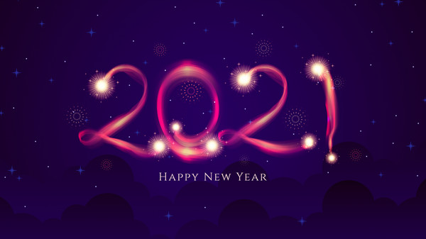Hình ảnh chúc mừng năm mới 2021 Tân Sửu