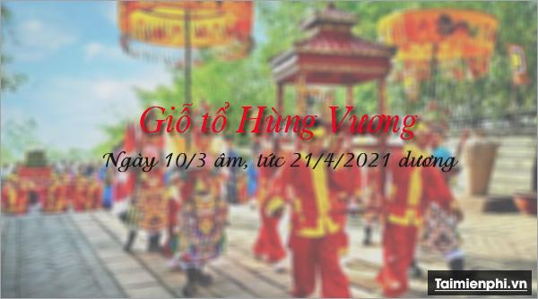 gio to Hung Vuong 2020 ngay may