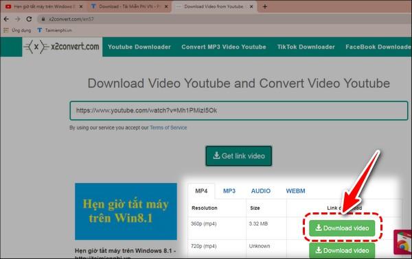 Phan mem download video Youtube mien phi