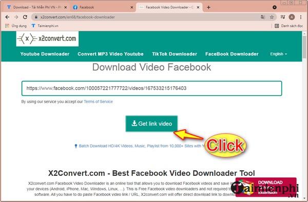 Download video Facebook HD