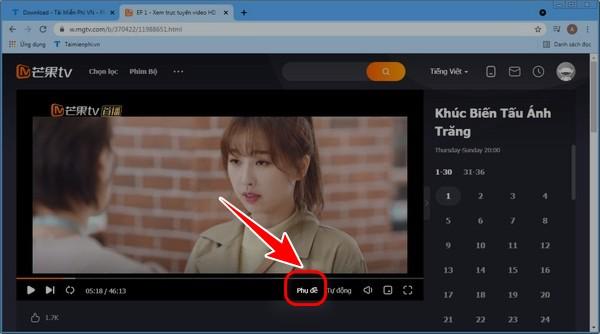 cach chinh phu de tren MangoTV