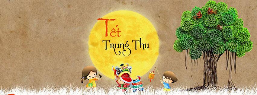 Anh bia Facebook vui don tet Trung thu