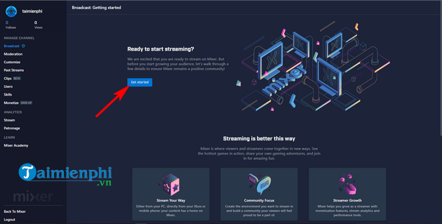 How to live streaming on mixer 6