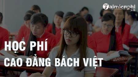 hoc phi cao dang bach viet 2016 2017
