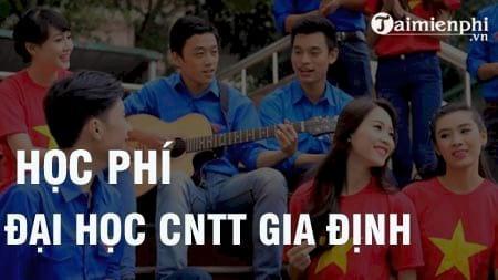 hoc phi dai hoc cntt gia dinh 2016 2017