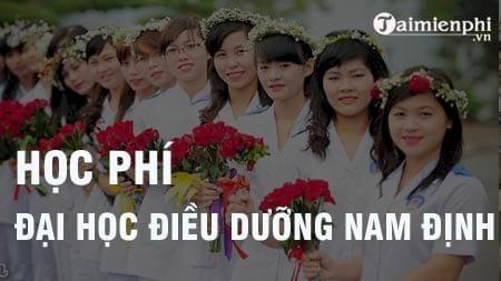 hoc phi dai hoc dieu duong nam dinh 2016 2017