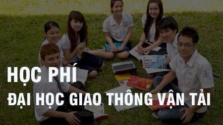 hoc phi dai hoc giao thong van tai 2016 2017 phia nam phia bac