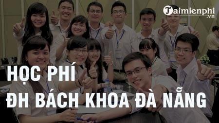 hoc phi dh bach khoa da nang 2016 2017