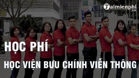 hoc phi hoc vien buu chinh vien thong 2016 2017
