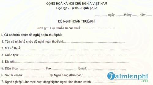 5 mau van ban de nghi xac nhan hay