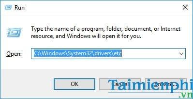 Cách mở file Host trên Windows 10, chỉnh sửa file host 6