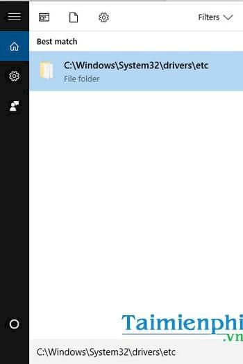 Cách mở file Host trên Windows 10, chỉnh sửa file host 7