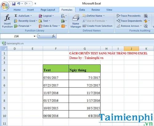 Cách chuyển text sang ngày tháng Excel 3