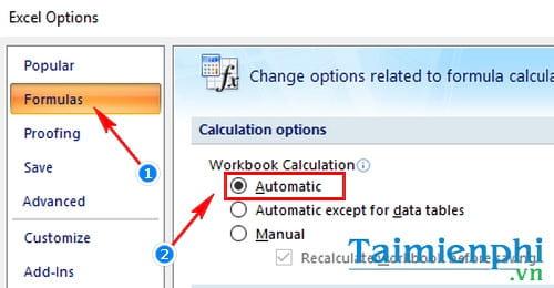 Hàm lấy ngày tháng năm hiện tại trong Excel là hàm nào?