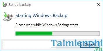 Cách Backup, Restore Windows 10, Sao lưu và phục hồi Windows 10 4