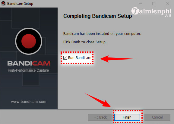how to use bandicam to take video capture 10