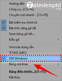 cach go font vni trong photoshop 8