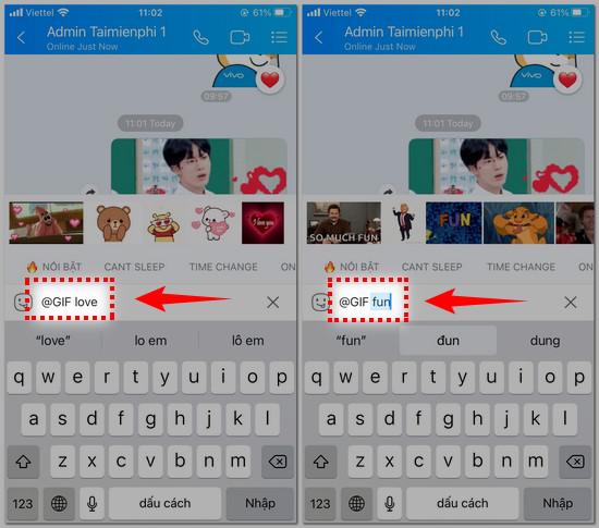 cach gui anh gif tren zalo cho iphone 4