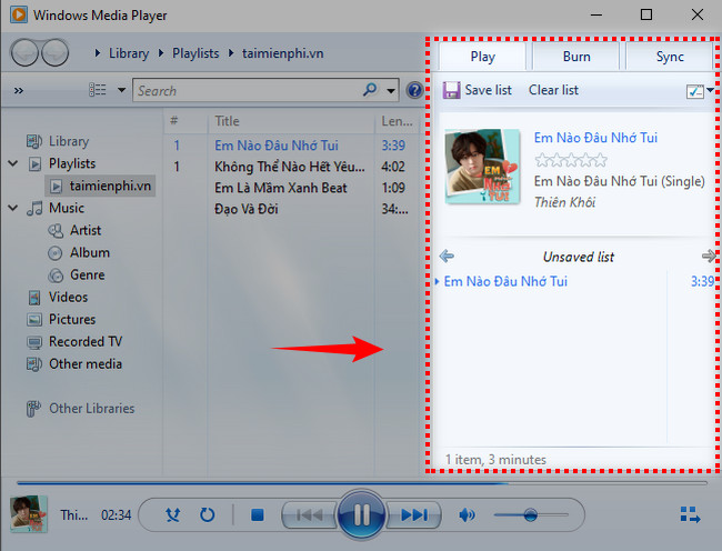 How to listen to music on Windows 10 with windows media player 7