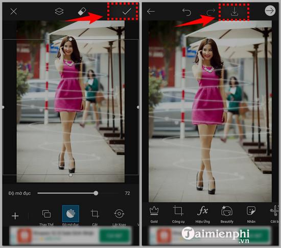 Cách tạo ảnh thần tiên bằng PicsArt