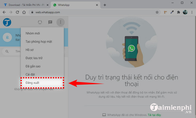 cach dang nhap whatsapp tren may tinh 7