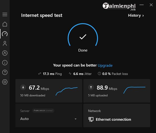 cach kiem tra toc do mang internet bang hotspot shield 5