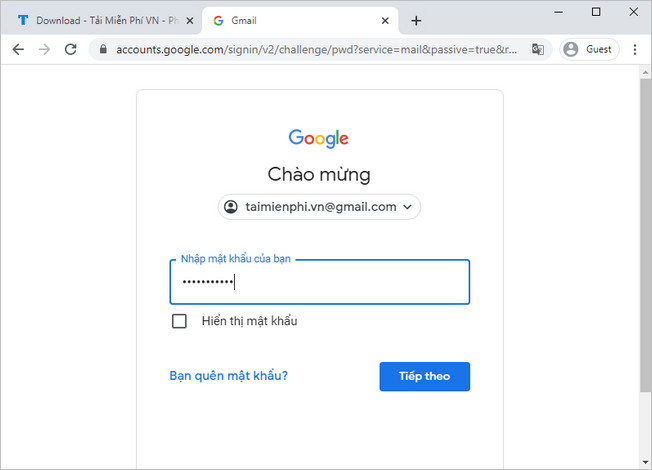 cach dang nhap gmail tren thiet bi khac 4
