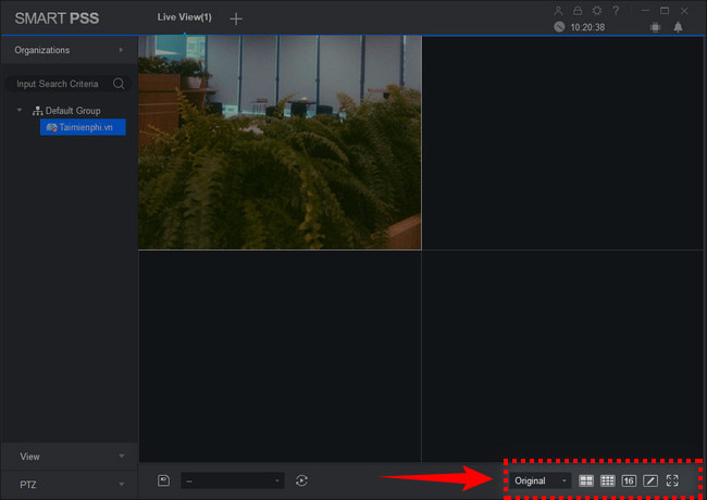 How to use smart pss to view remote camera 12