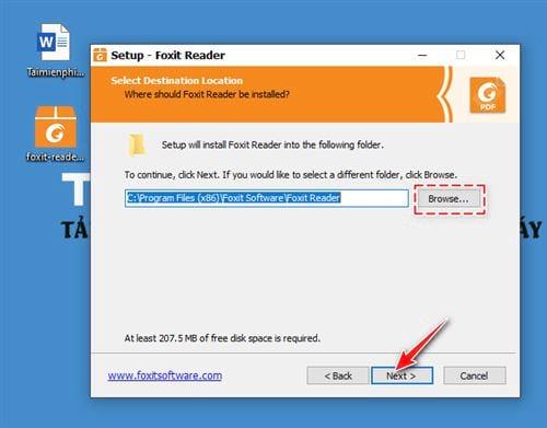 huong dan cai foxit reader new version 4
