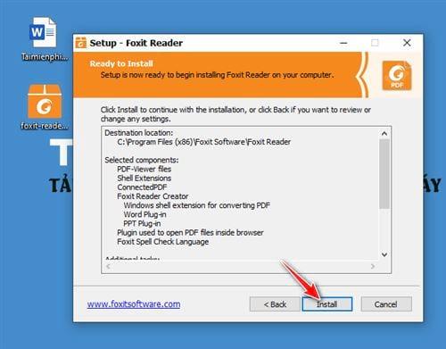 huong dan cai foxit reader new version 9