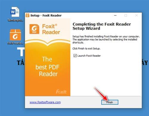 huong dan cai foxit reader new version 10
