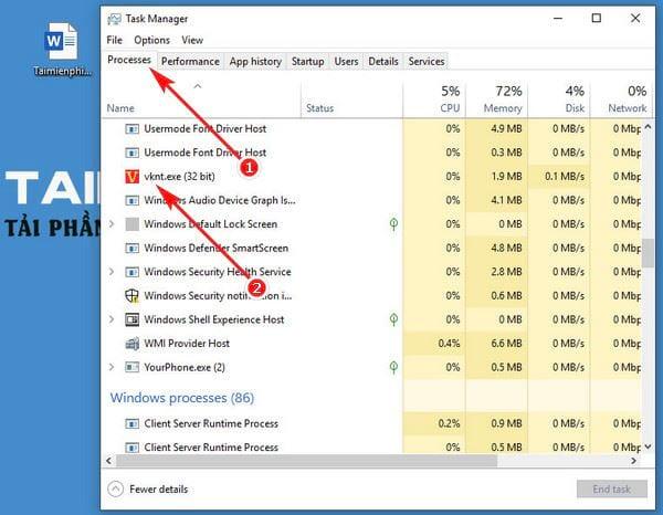 How to use vietkey on a computer 5