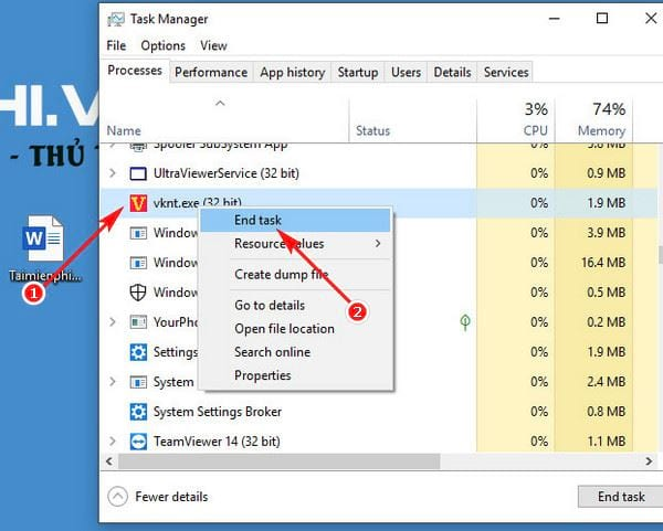 How to delete vietkey remove vietkey 2007 from computer 3