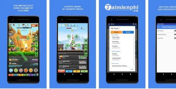 Top ứng dụng Auto Click cho Android không cần root 5
