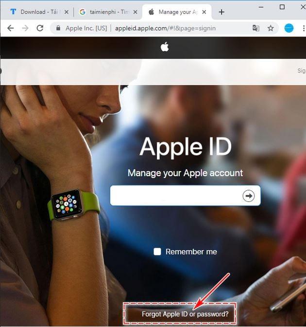 Cách xóa iCloud khi quên mật khẩu trên điện thoại 4