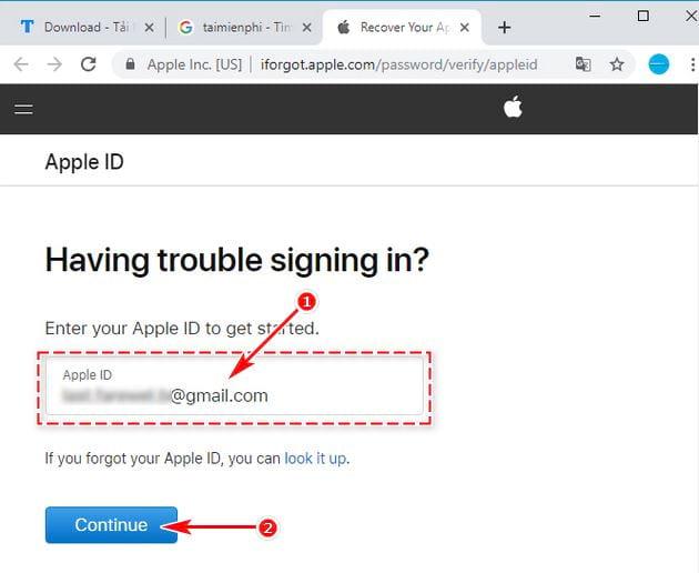 Cách xóa iCloud khi quên mật khẩu trên điện thoại 5
