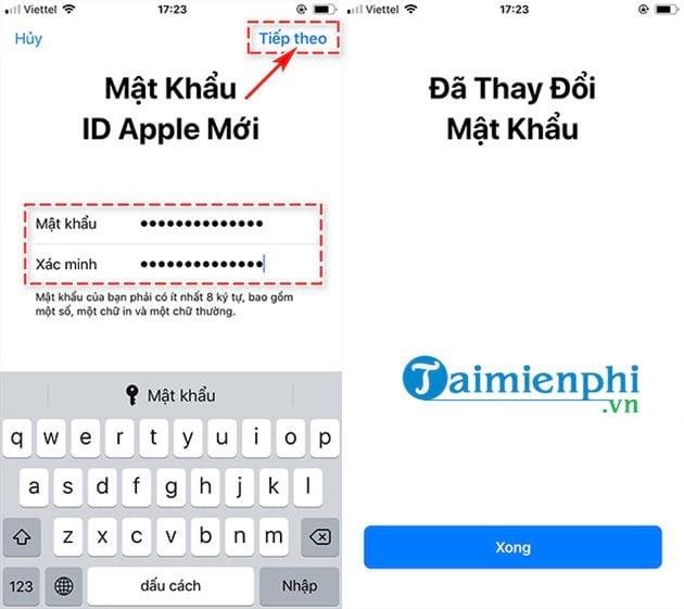 Cách xóa iCloud khi quên mật khẩu trên điện thoại 8