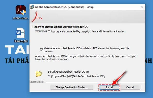 The new version of the acrobat reader 3