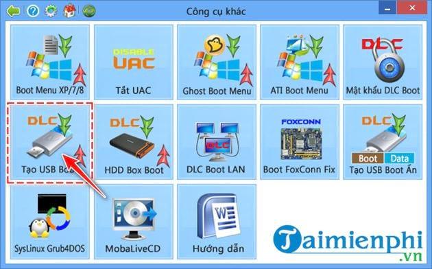 Cách tạo USB boot bằng DLC Boot 2015 5