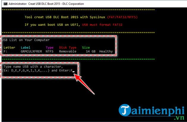 Cách tạo USB boot bằng DLC Boot 2015 6