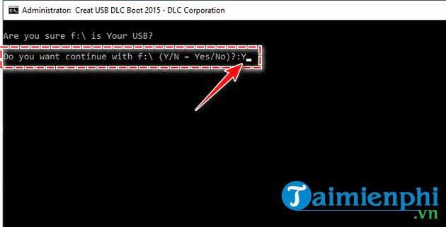 Cách tạo USB boot bằng DLC Boot 2015 7