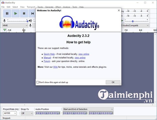 Downloading and setting audacity on computer 12