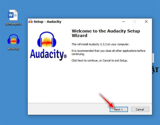 Downloading and setting audacity on computer 5