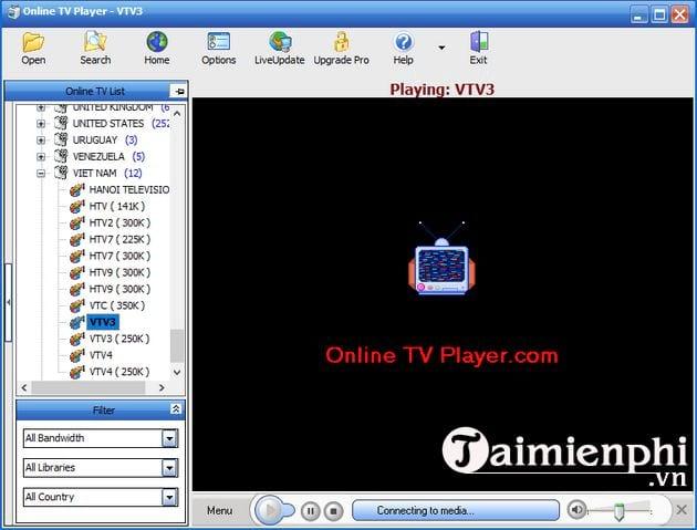 huong dan cai online tv player 9