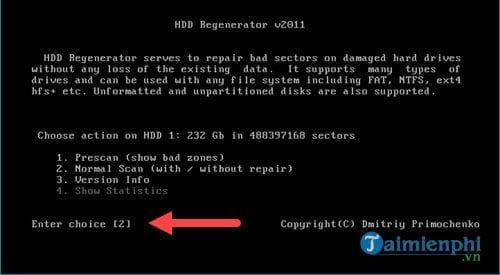 Cách sửa ổ cứng bị BAD nặng 4